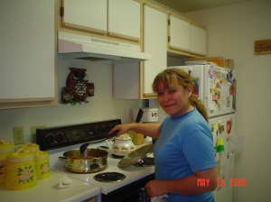 Cecelia in the Kitchen
